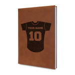 Baseball Jersey Leatherette Journal (Personalized)