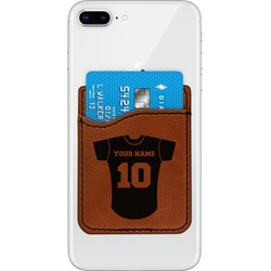 Baseball Jersey Leatherette Phone Wallet (Personalized)