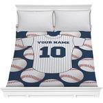 Baseball Jersey Comforter (Personalized)