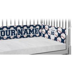 Baseball Jersey Crib Bumper Pads (Personalized)