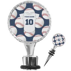 Baseball Jersey Wine Bottle Stopper (Personalized)