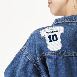Baseball Jersey Large Custom Shape Patch (Personalized)