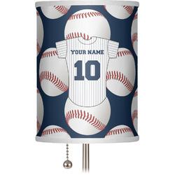 "Baseball Jersey 7"" Drum Lamp Shade (Personalized)"