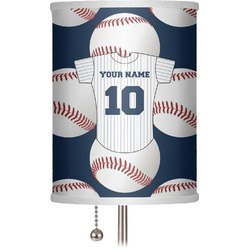 "Baseball Jersey 7"" Drum Lamp Shade (Personalized)"