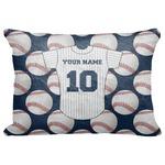"""Baseball Jersey Decorative Baby Pillowcase - 16""""x12"""" (Personalized)"""