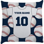 Baseball Jersey Decorative Pillow Case (Personalized)