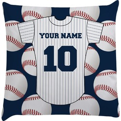 Baseball Jersey Decorative Pillow Case (Personalized)