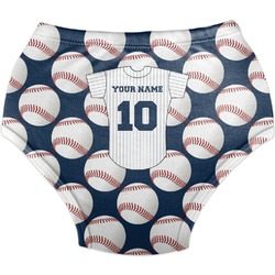 Baseball Jersey Diaper Cover (Personalized)