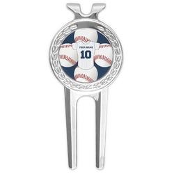 Baseball Jersey Golf Divot Tool & Ball Marker (Personalized)
