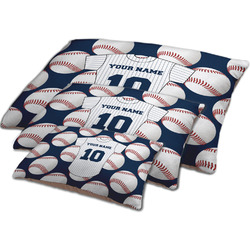 Baseball Jersey Dog Bed w/ Name and Number