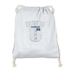 Baseball Jersey Drawstring Backpack - Sweatshirt Fleece (Personalized)