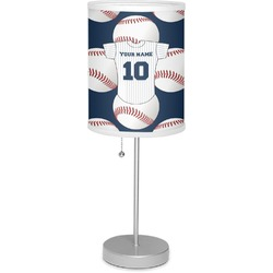 "Baseball Jersey 7"" Drum Lamp with Shade (Personalized)"