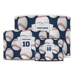 Baseball Jersey Drum Lamp Shade (Personalized)
