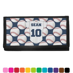 Baseball Jersey Checkbook Cover (Personalized)