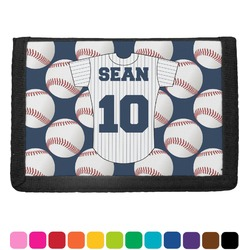 Baseball Jersey Trifold Wallet (Personalized)