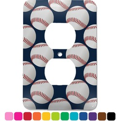 Baseball Jersey Electric Outlet Plate (Personalized)