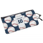 Baseball Jersey Genuine Leather Eyeglass Case (Personalized)