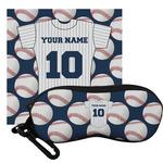 Baseball Jersey Eyeglass Case & Cloth (Personalized)