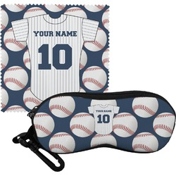 Baseball Jersey Eyeglass Case & Cloth (Personalized)