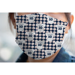 Baseball Jersey Face Mask Cover (Personalized)