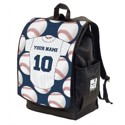 Baseball Jersey Backpack w/ Front Flap  (Personalized)