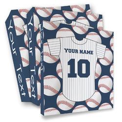 Baseball Jersey 3 Ring Binder - Full Wrap (Personalized)