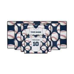 Baseball Jersey Gaming Mouse Pad (Personalized)