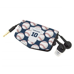 Baseball Jersey Genuine Leather Cord Wrap (Personalized)