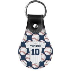 Baseball Jersey Genuine Leather  Keychain (Personalized)