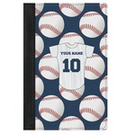 Baseball Jersey Genuine Leather Passport Cover (Personalized)