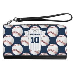 Baseball Jersey Genuine Leather Smartphone Wrist Wallet (Personalized)