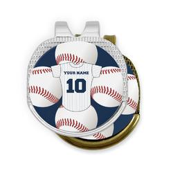Baseball Jersey Golf Ball Marker - Hat Clip