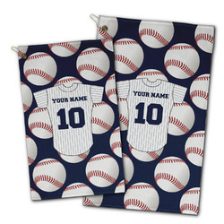 Baseball Jersey Golf Towel - Full Print w/ Name and Number