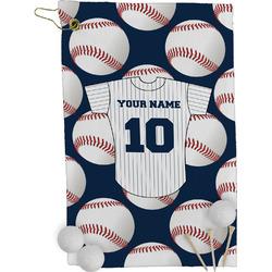 Baseball Jersey Golf Towel - Full Print (Personalized)