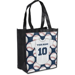 Baseball Jersey Grocery Bag (Personalized)