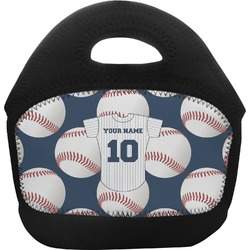Baseball Jersey Toddler Lunch Tote (Personalized)