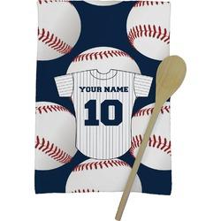 Baseball Jersey Kitchen Towel - Full Print (Personalized)
