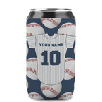 Baseball Jersey Can Sleeve (12 oz) (Personalized)