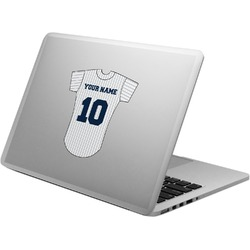 Baseball Jersey Laptop Decal (Personalized)