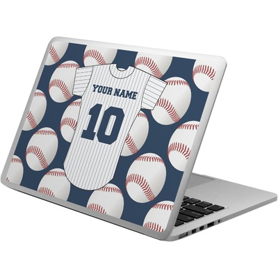 Baseball Jersey Laptop Skin - Custom Sized (Personalized)