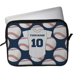 "Baseball Jersey Laptop Sleeve / Case - 15"" (Personalized)"