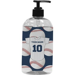 Baseball Jersey Plastic Soap / Lotion Dispenser (Personalized)