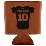 Baseball Jersey Leatherette Can Sleeve (Personalized)