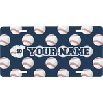 Baseball Jersey Front License Plate (Personalized)