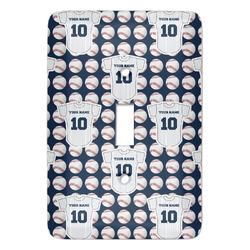 Baseball Jersey Light Switch Covers (Personalized)
