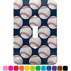 Baseball Jersey Light Switch Cover (Single Toggle) (Personalized)