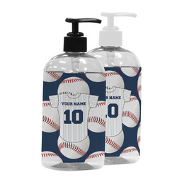 Baseball Jersey Plastic Soap / Lotion Dispenser (Personalized)