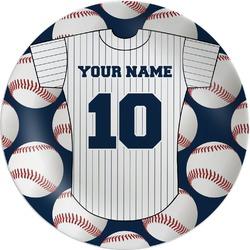 Baseball Jersey Melamine Plate (Personalized)
