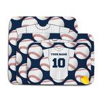 Baseball Jersey Memory Foam Bath Mat (Personalized)