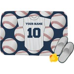 Baseball Jersey Memory Foam Bath Mat (Personalized)
